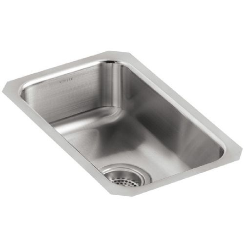 Kohler Icerock Stainless Steel Under-Mount Kitchen Bowl - 3333-ST